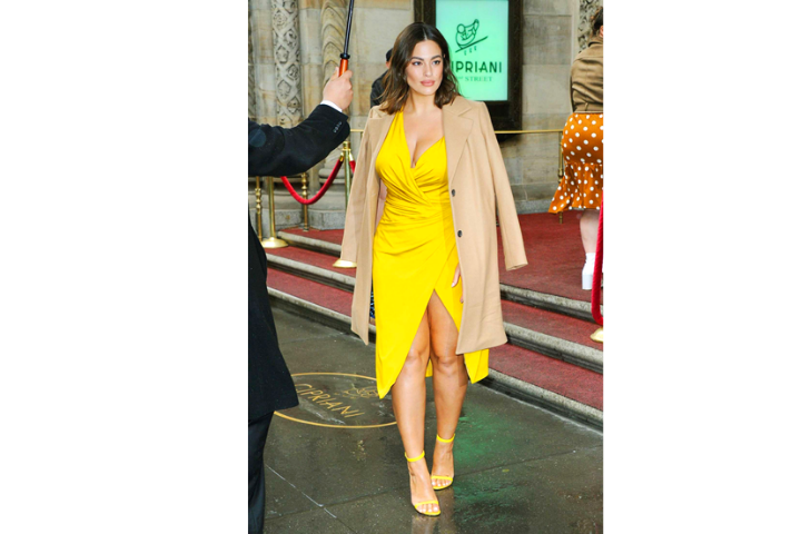 Styling In Yellow And Camel